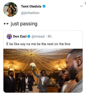 Temi Otedola responds to Mr Eazi's marriage call