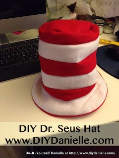 How to make your own Dr. Seuss Hat