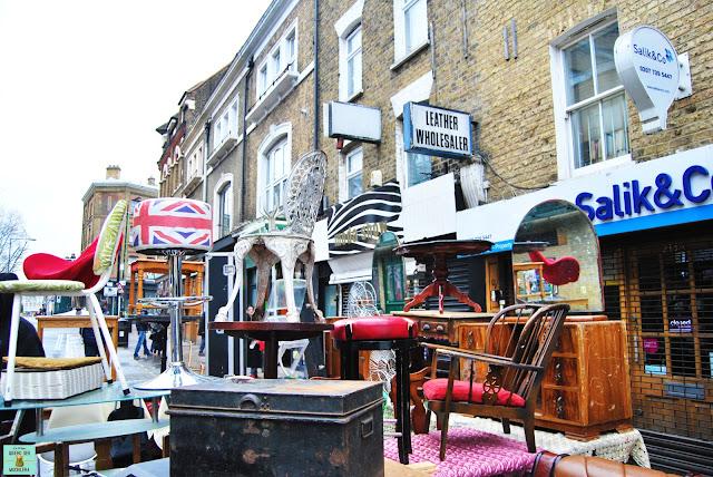 Bricklane Market en Londres