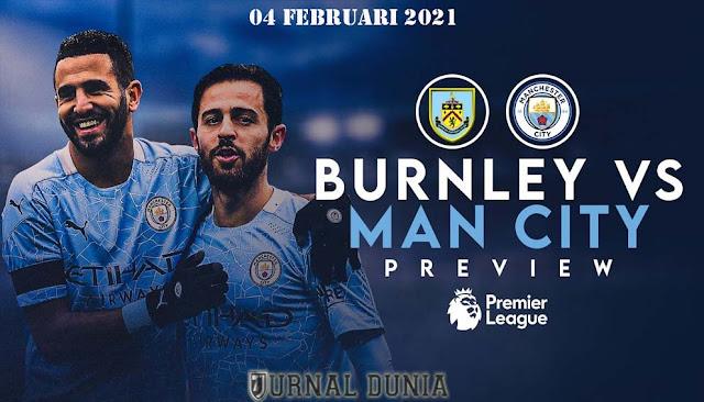 Prediksi Burnley Vs Manchester City