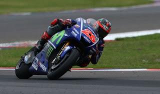 Maverick Vinales Tercepat FP2 MotoGP Assen Belanda 2017