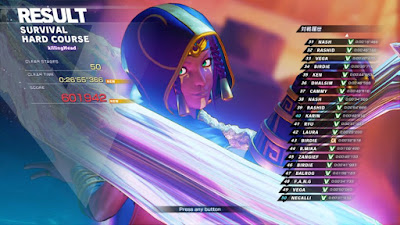 SFV Menat : Survival HARD Clear