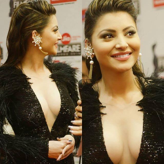 urvashi rautela cleavage
