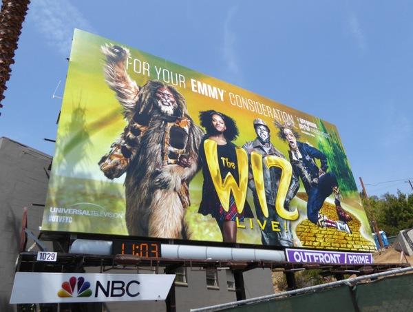 Wiz Live Emmy 2016 consideration billboard