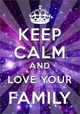 Keep Calm And Love Family