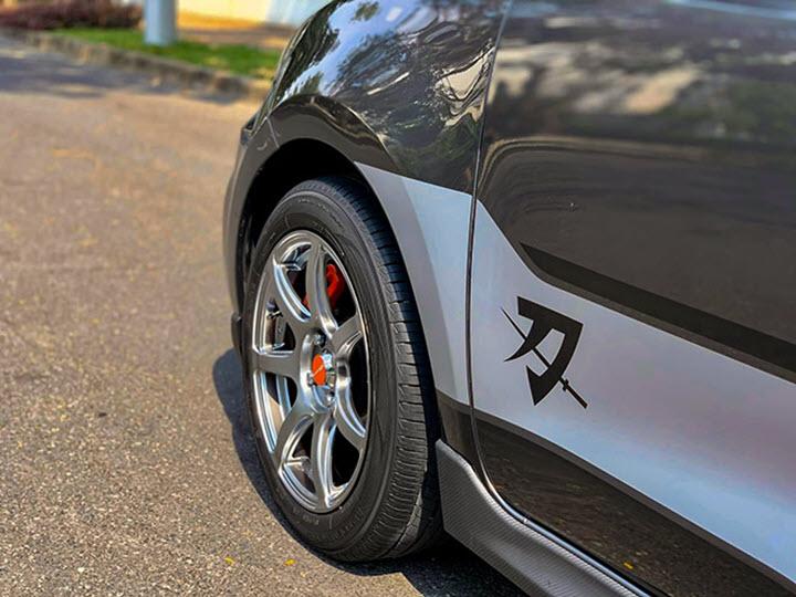 Suzuki Swift bản nâng cấp độc đáo với phong cách Sport Katana giới hạn