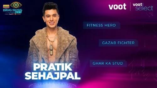 Bigg Boss OTT Contestant 7 - Pratik Sehajpal