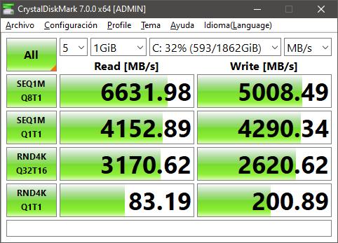 benchmark Samsung SSD 980 PRO M.2 2TB - PC Gamer 2021