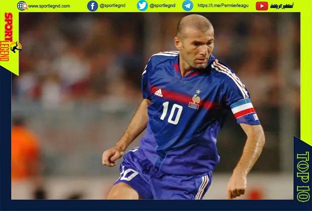 افضل عشر لاعبين في تاريخ فرنسا