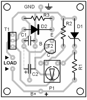Parts Placement Layout Electronic Fuse