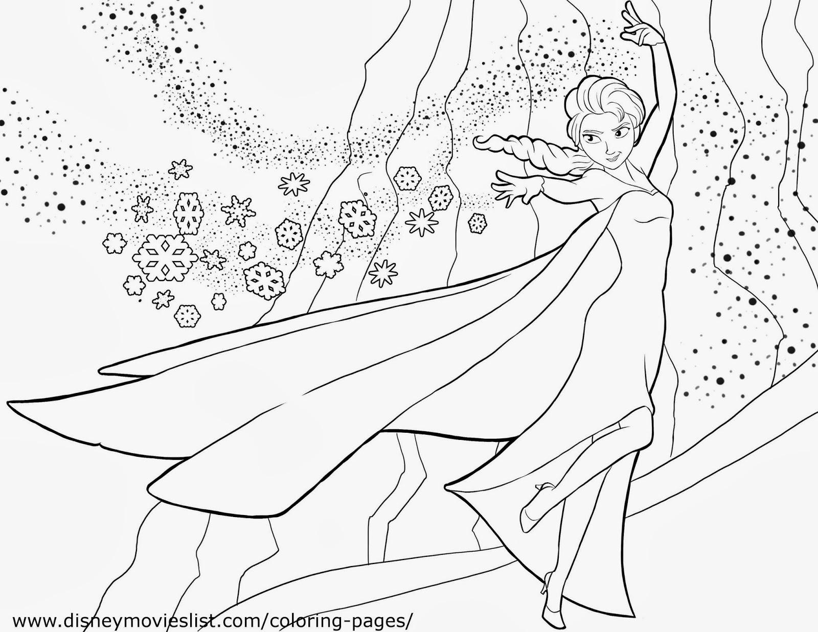 Desenho De Colorir Frozen: BAÚ DA WEB : Desenhos De Frozen