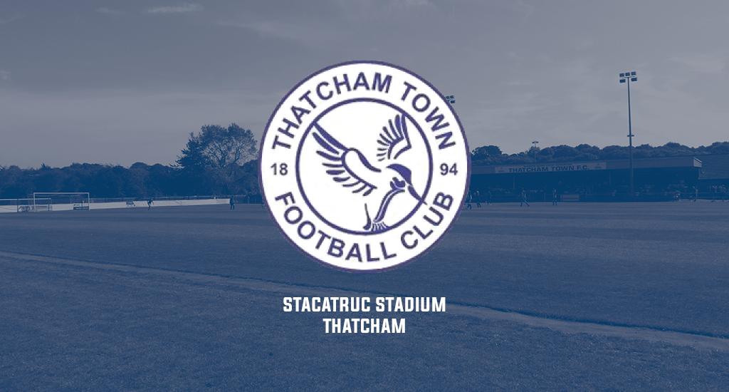 Stacatruc Stadium and Thatcham Town FC logo