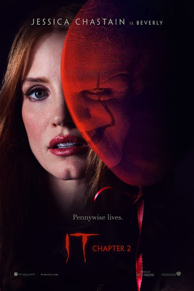 Poster of It Chapter Two (2019) Full Move Hindi 720p CAMRip Free Download
