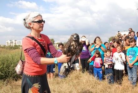 Απελευθέρωση πουλιών στο Καλοχώρι για την Ευρωπαϊκή Γιορτή Πουλιών