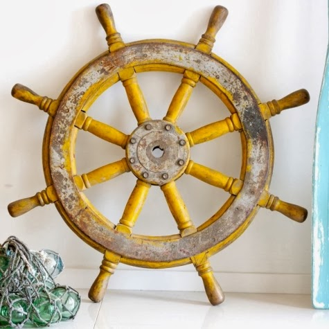 11 Ship Wheel Wall Decor Ideas -A Stylish Spin on the Old Captains ...