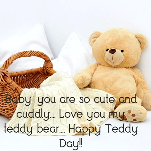 Happy Teddy Day Photo for fb