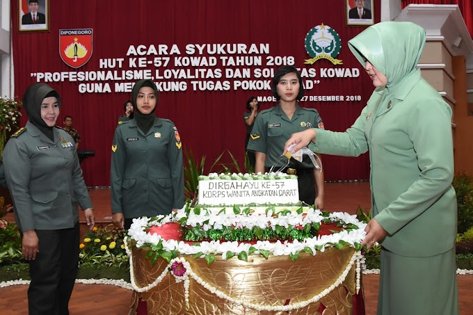 Ny. Septi Effendi, Kowad Harus Profesional, Loyal dan Solid