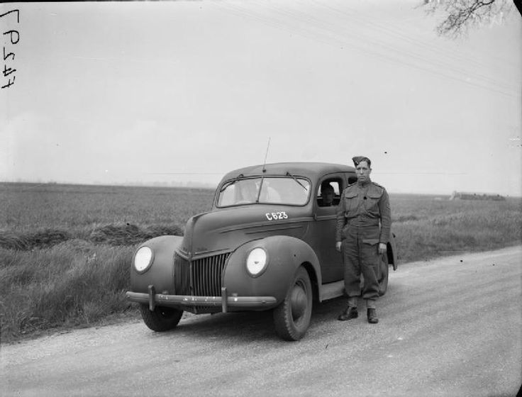 9 May 1940 worldwartwo.filminspector.com Ford Staff Car British Officer