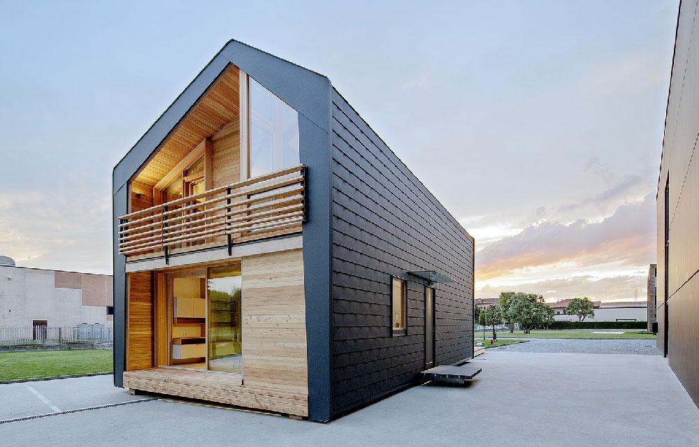 Frame il primo modello di casa prefabbricata LeapHome  Blog di arredamento e interni
