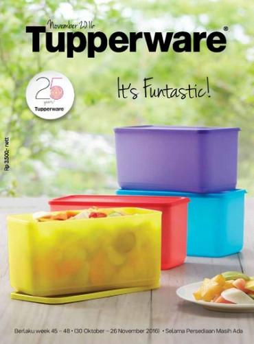 Katalog Activity Promo Tupperware Januari 2018