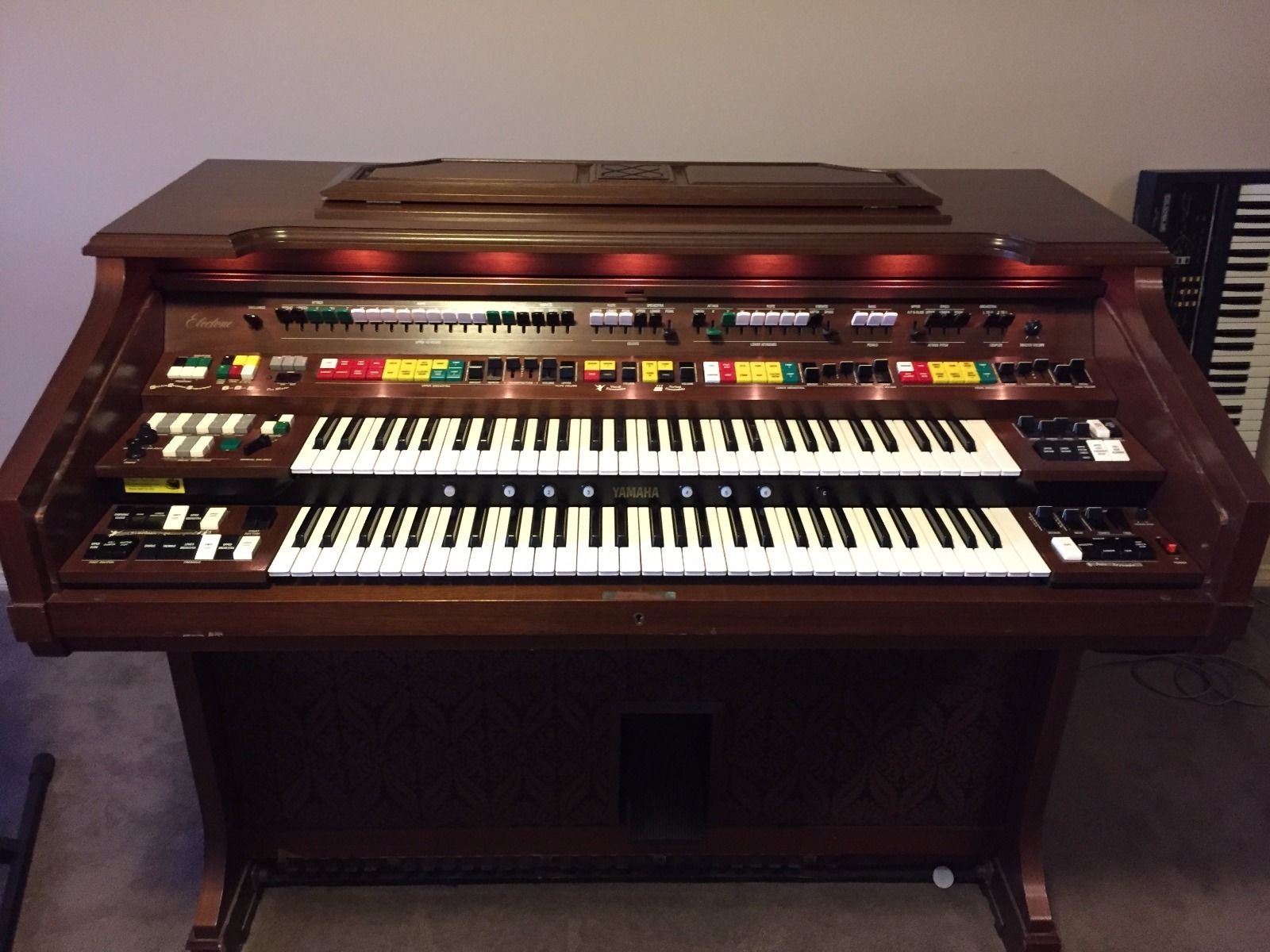 MATRIXSYNTH: Yamaha Electone E75 rare synth (voice cards ...
