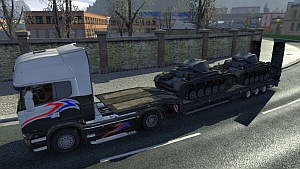 ETS2 German tanks