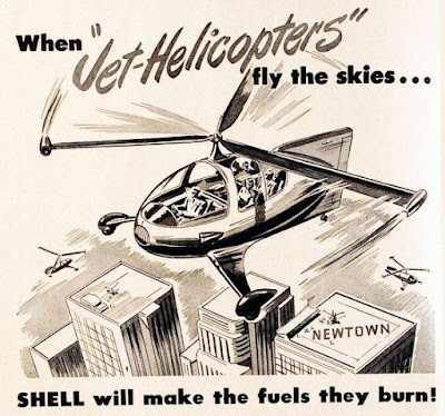 Shell - Jet Helicopter