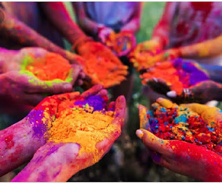 holi coloring pages