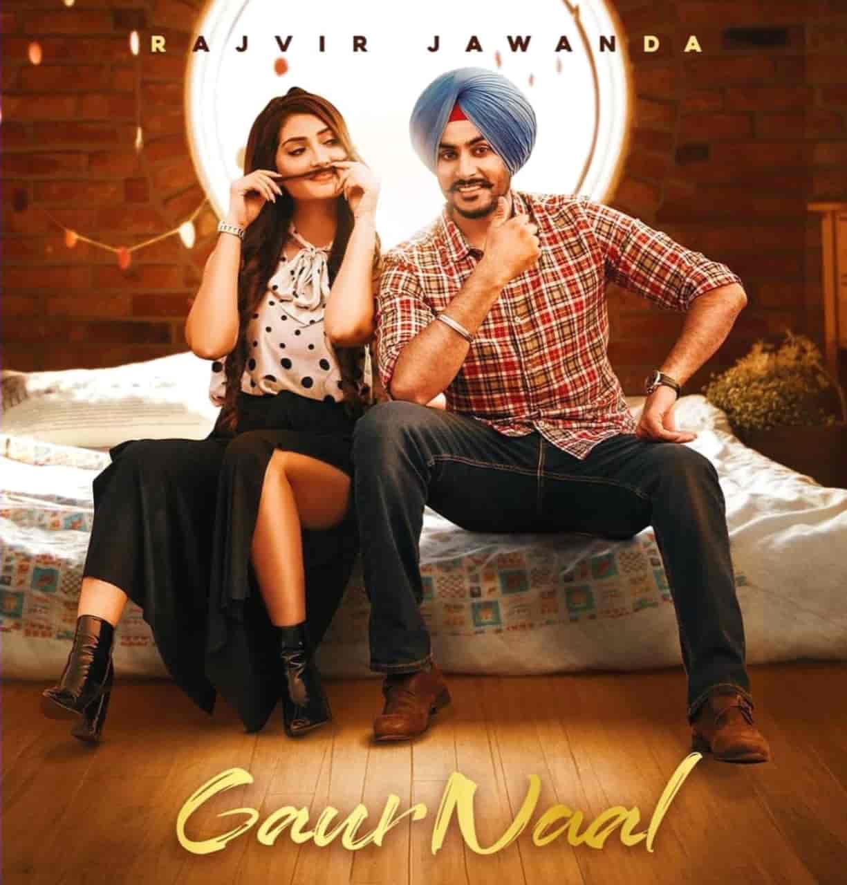 Gaur Naal Punjabi Song Image Features Rajvir Jawanda
