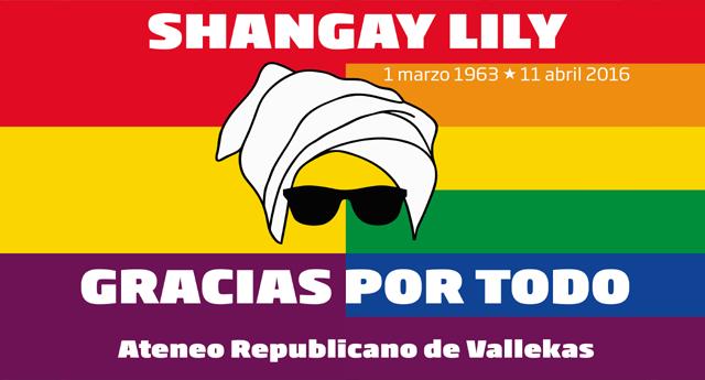 Homenaje a Shangay Lily en el Ateneo Republicano de Vallecas