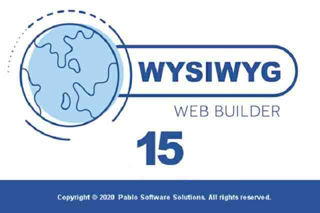 تنزيل برنامج WYSIWYG Web Builder لإنشاء المواقع الالكتروبية باحترافية عالية
