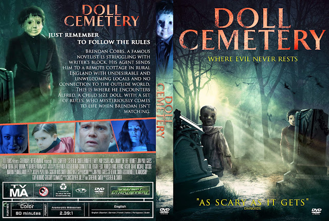 Doll Cemetery DVD Cover