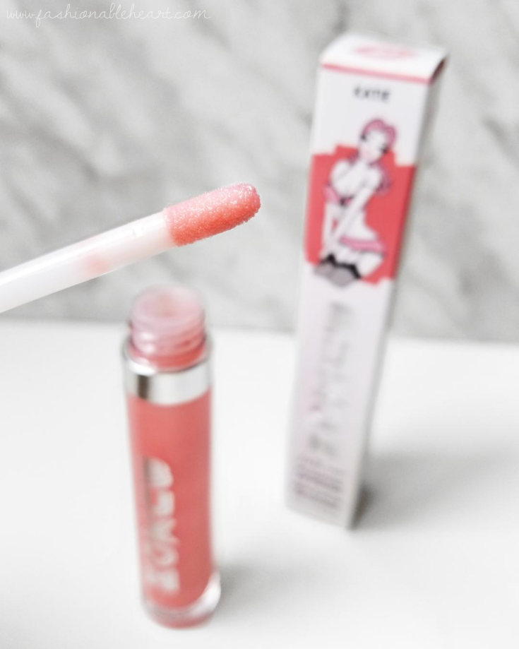 bblogger, bbloggers, bbloggersca, bbloggerca, canadian beauty bloggers, beauty blog, southern blogger, ulta, sephora, buxom, buxom cosmetics, full-on plumping lip polish, katie, plumping gloss, lip gloss, buxom katie, swatches, review, hand swatch, lip swatch, maybelline superstay matte ink, loyalist, lip shade combo
