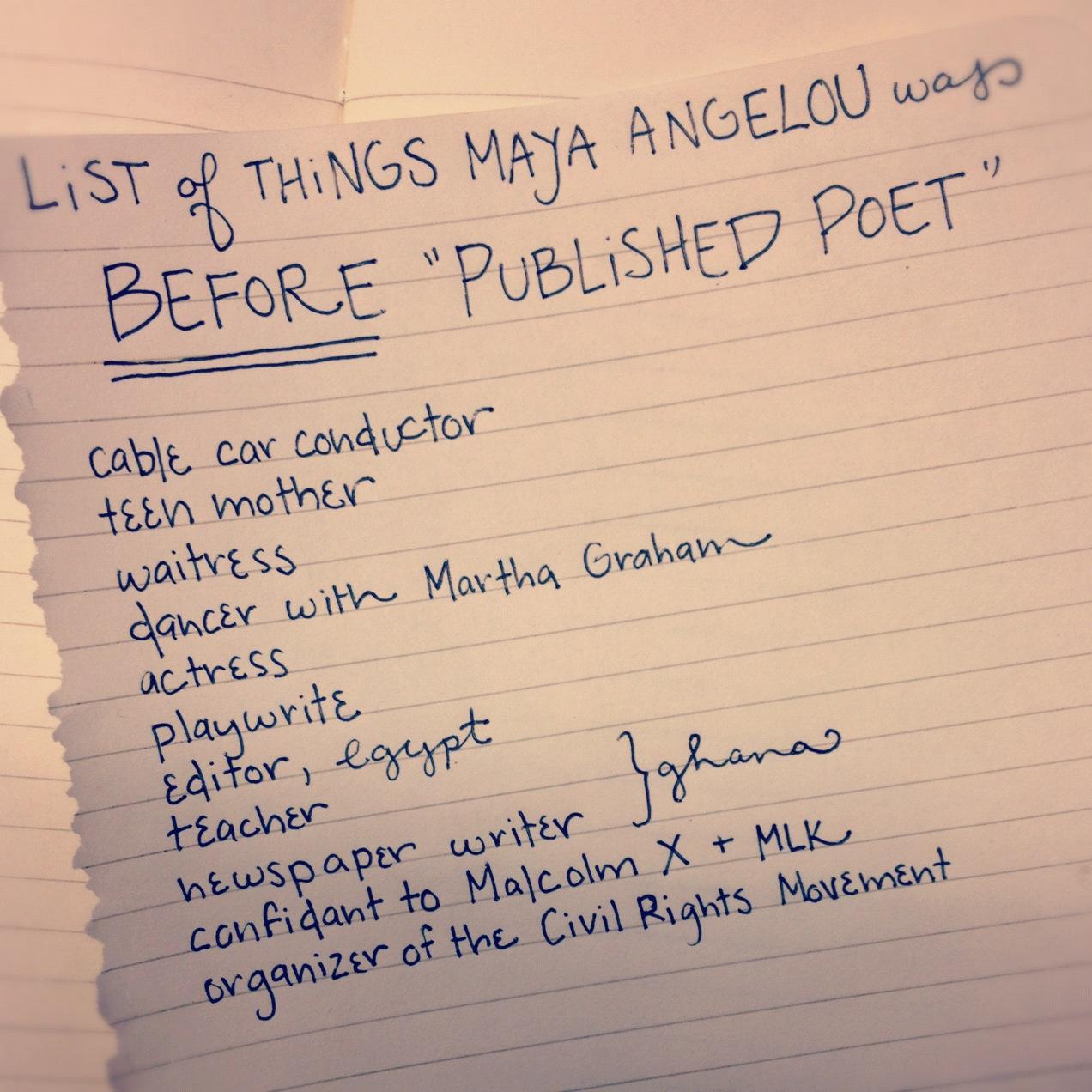 Maya Virtuous Woman Angelou Poems