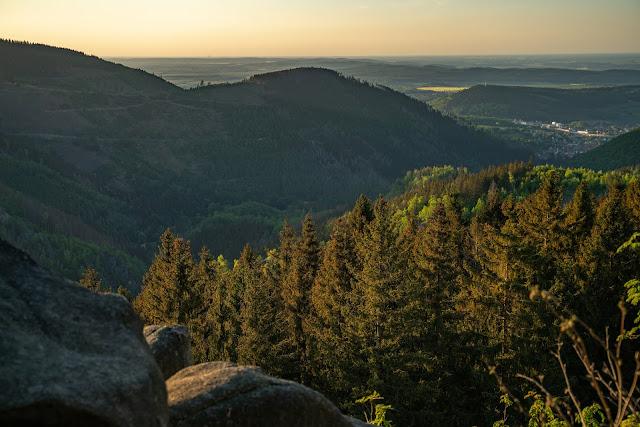 Kästeklippentour und Sonnenuntergang im Harz | Wandern in Bad Harzburg 14