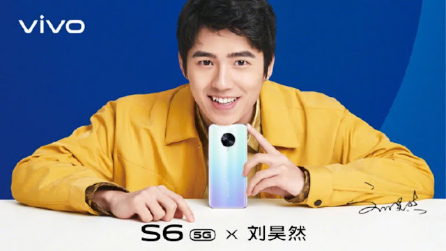 vivo S6 5G design finally revealed, will have 48 MP camera.