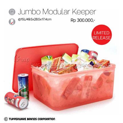 Jumbo Mudular Keeper ~ Katalog Tupperware Promo Mei 2016