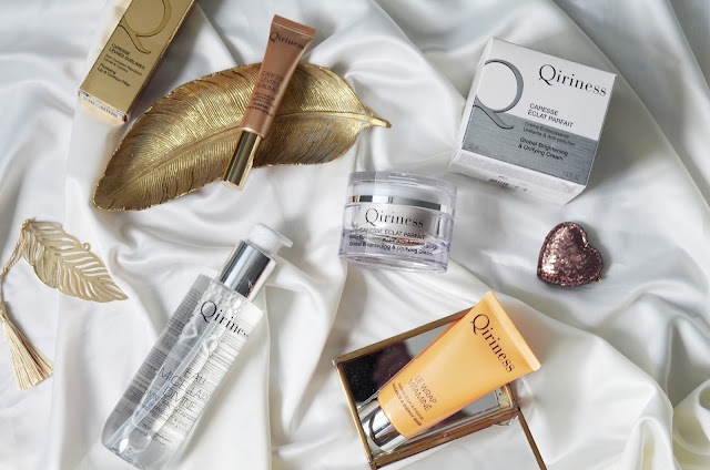 Богатство от Qiriness: Qiriness Radiance & Energy Mask.Qiriness Divine Micellar Water.Qiriness Plumping lip & Contour Filler. Qiriness  Global Brightening & Unifying Cream.