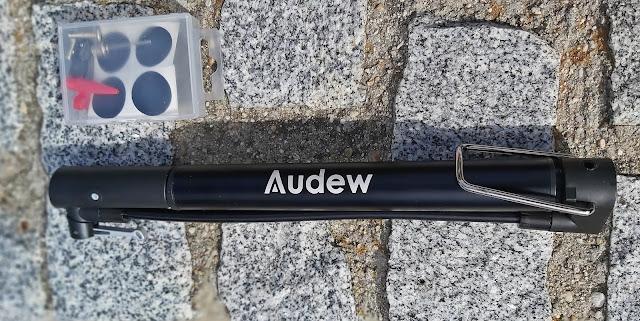 Bomba de pie portatil Audew