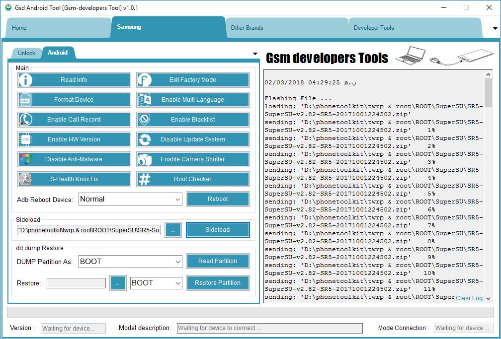 Sohail Gsm: Gsd Android Tool v1 0 1 Developer Assistant