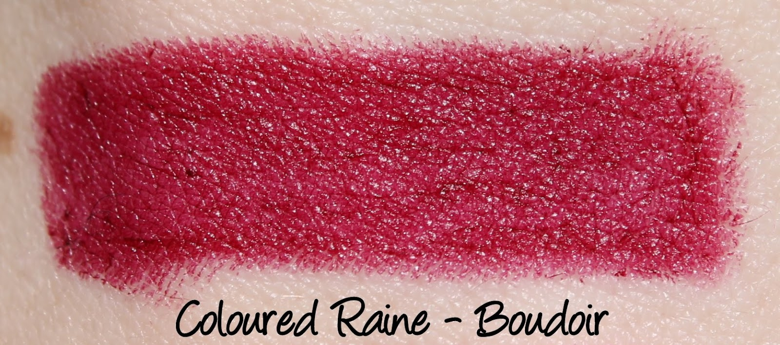 Coloured Raine Boudoir Lipstick Swatches & Review