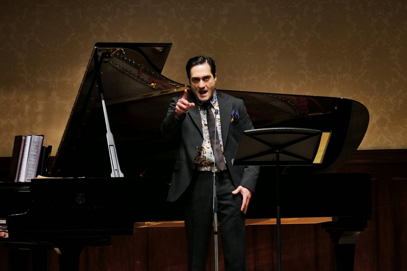 Giuseppe Filianoti at the Wigmore Hall © Jonathan Rose