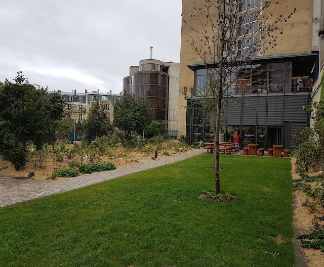 Le pavillon d'accueil de la nouvelle maison de Balzac