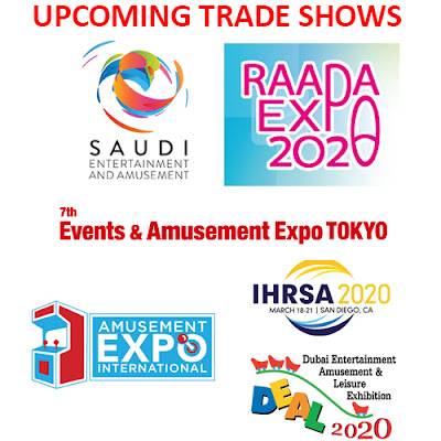 iPlayCO, Amusement Expo, IHRSA, SEA2020, DEAL,