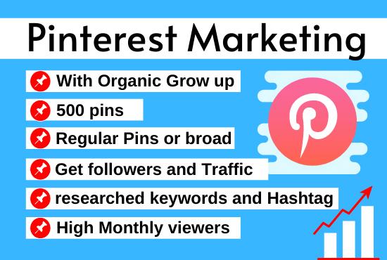 Pinterest marketing manager