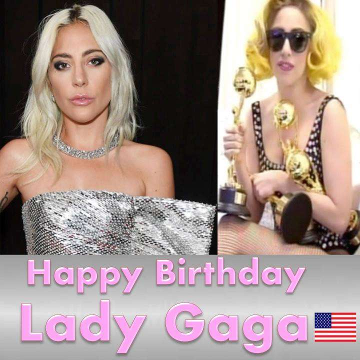 Lady Gaga's Birthday Wishes Lovely Pics
