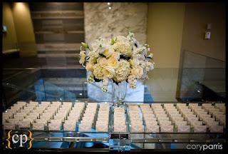 decor for escort card table