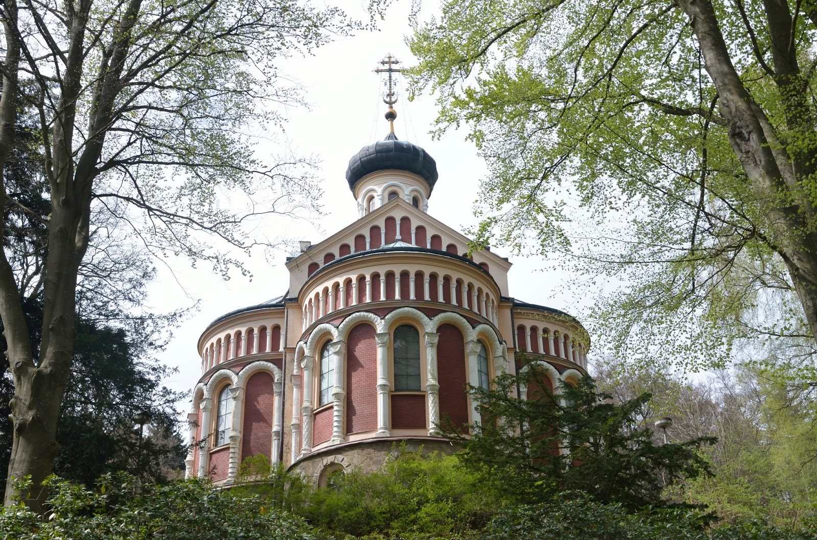 Iglesia rusa de San Vladmír de Marienbad