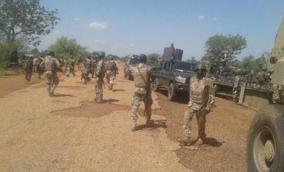 13 Boko Haram Terrorists, 23 circle of relatives members surrender To Troops In Borno