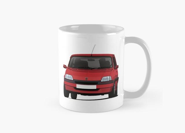 Rover Metro GTi coffee mug